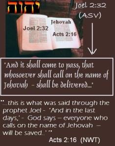 De Bijbel het Woord van God om Zijn Naam te aanroepen