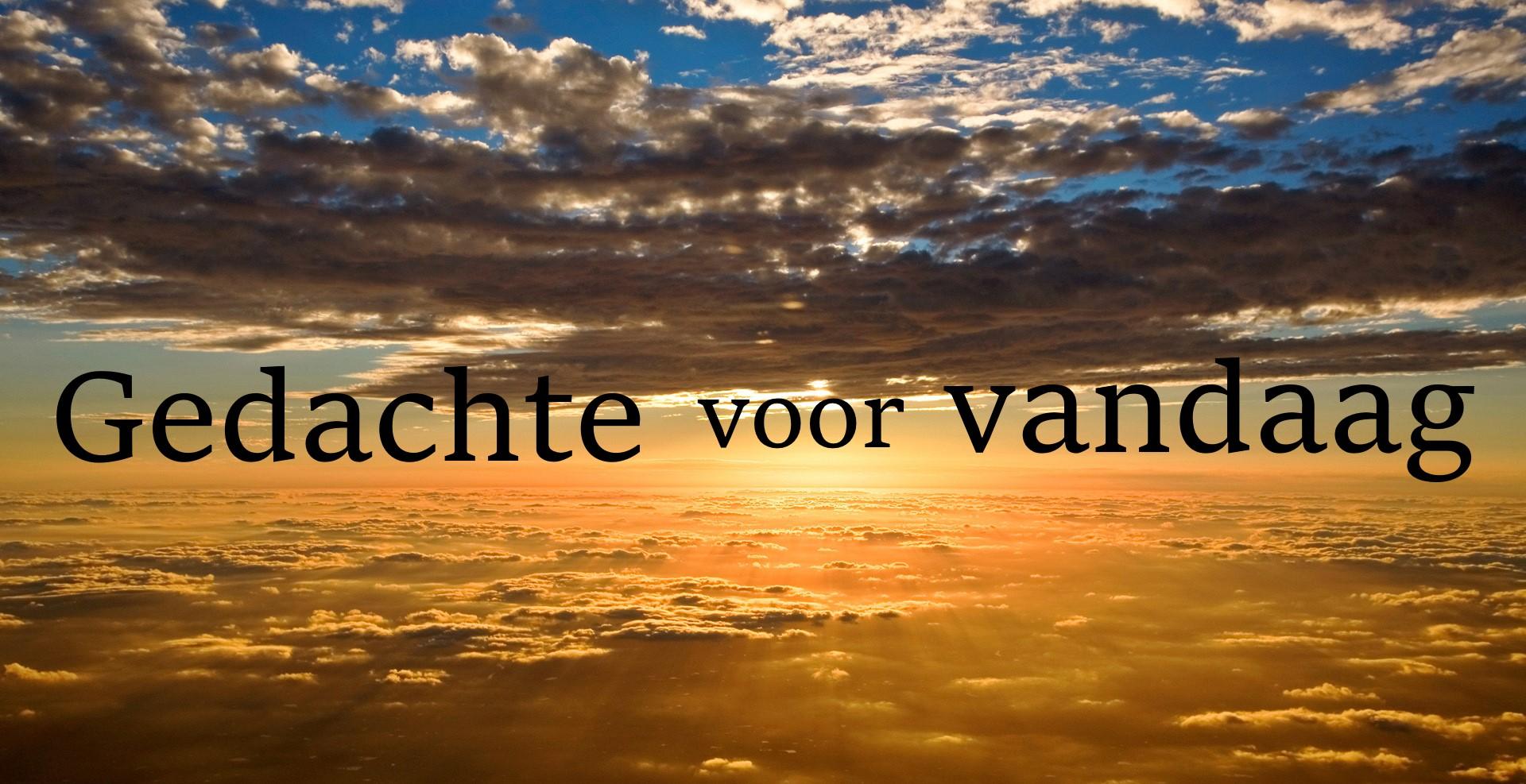 De gedachte van vandaag 'Gods naam en trouw bekendmaken zodat velen Jehovah komen loven' (20 februari)