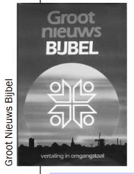 Groot Nieuws Bijbel - NBG + KBS uitgave